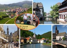 Alsace-Lorraine, France  Barge Cruises