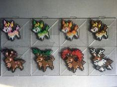 Charmander Family Perlers by TehMorrison on DeviantArt Perler Bead Pokemon Patterns, Pokemon Perler Beads, Fuse Beads, Pearler Beads, Pixel Beads, Pixel Art, Papercraft Pokemon, Stitch Games, Crochet Pokemon