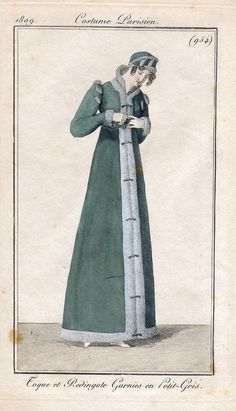 She was a tall girl, though mercifully not as tall as the willowy giantess depicted in La Belle Assemblie...Frederica