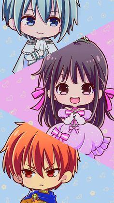 Chibi Wallpaper, Cute Anime Wallpaper, Cute Cartoon Wallpapers, Chibi Anime, Anime Kawaii, Anime Art, Fruits Basket Cosplay, Fruits Basket Manga, Poster Anime