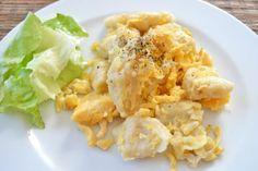 Das Rezept für traditionelle Eiernockerln ist sehr einfach, geht schnell und schmeckt hervorragend, auch als Hauptmahlzeit.
