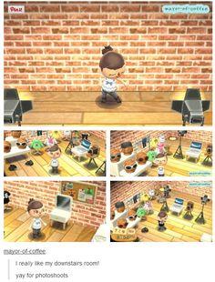 Bildergebnis für animal crossing new leaf room Animal Crossing Guide, Animal Crossing Fan Art, Ac New Leaf, Happy Home Designer, City Folk, Cute Games, Animal Games, Room Inspiration, Decoration