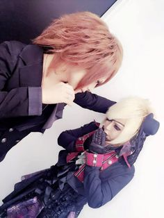 Kagari and noah du groupe avanchick