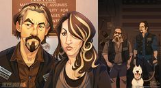 Sons of Anarchy by Javadoodle.deviantart.com on @deviantART