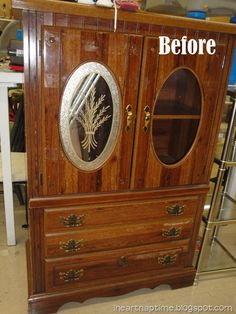 Trash to treasure –The Armoire!