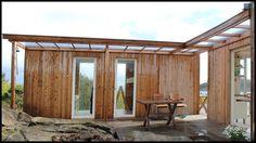Anneks Sandøy, Loshavn i Farsund kommune. Architect: Per Halle Halle, Pergola, Cottage, Exterior, Outdoor Structures, Patio, Vacation, Architecture, Garden