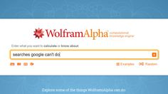 16 Searches You Can Run on Wolfram Alpha That Don't Work on Google https://plus.google.com/+PravinVibhute/posts/9pQN94F92Tw