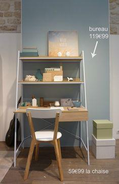But / New collection / J'aime beaucoup la simplicité des lignes de ce bureau…