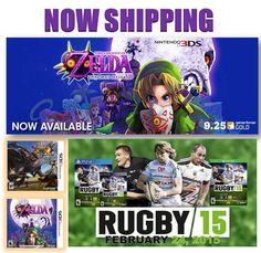 Muchos Lanzamientos Nuevos!   Latam Games es el distribuidor número uno de América Latina y el Caribe. Vaya a la sección de nuevo lanzamientos de nuestro sitio web y pre-ordénalo!   Many New Releases!   http://www.latamgames.com  #mayorista #distribuidores #ventadevideojuejos #jogos #mayoristadevideojuegos #distribuidoresdevideojuegos #xboxone #xbox #xbox360 #ps3 #ps4 #psv #psvita #vita #3ds #wii #wiiu #thelegendofzelda #rugby15 #theorder #dragonballxv #dragonballz #monsterhunter #zelda