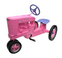 "International Harvester Farmall M ""Pink"" Die Cast Pedal"