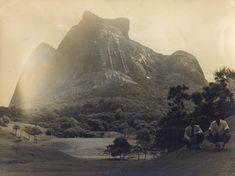 Fotografia Original Antiga do Rio de Janeiro, Pedra da Gávea. Mede 24 x 18 cm.http://www.leilaodeartebrasileira.com.br/