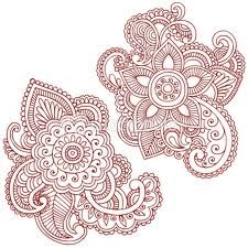 paisley tattoo (example on right)