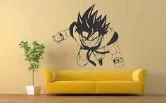Goku Dragon Ball Z Wall Decals