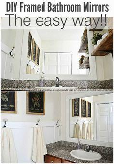 Boys' bathroom mirror