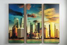 Quadro Cidades Trio Xangai