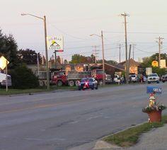 Dump Truck Driver Shuts Down US-23 in Alpena (Video)