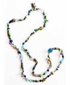 32 inch Coastal Safari Necklace