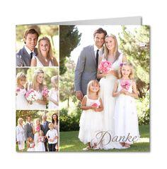 Dankeskarte Hochzeit Fotogen (R-4225)