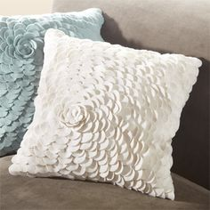 View the Felt Cream Petal Pillow at Arhaus. Soft and cozy. These wool felt pillows are sure make you want to cuddle up! Made with beautiful appliqued patterns and designs, this neutral color pillow collection is easy to mix and match! This globall Felt Cushion, Felt Pillow, Toss Pillows, Bed Pillows, Colorful Pillows, Formal Living Rooms, Bedding Collections, Neutral Colors, Living Room Furniture