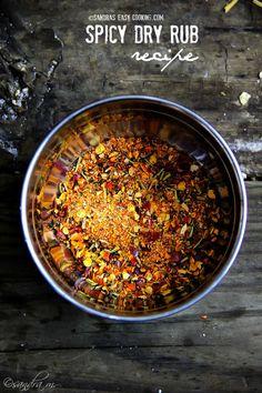 Spicy Dry Rub #recipe                                                                                                                                                                                 More
