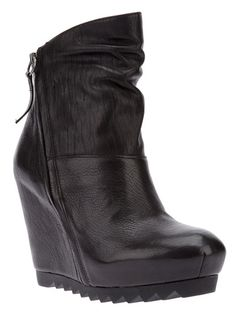 Ash - Wedge ankle boot 1