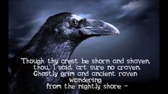 The Raven (Christopher Lee) So beautifully rendered. OMG, now I will have to listen....over and over again!