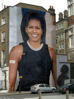 1st Lady Michelle Obama... #Photofunia