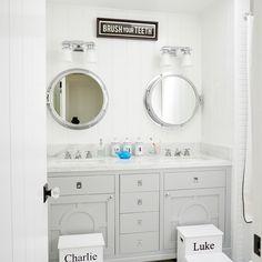 nautical bathroom | Waterleaf Interiors