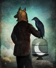 """Amazing, Surreal, Stunning. Love the Story here.... """"Nocturne"""" by Christian Schloe"""