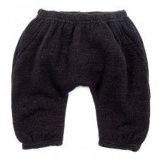 Gold Belgium sarouel pants - Black
