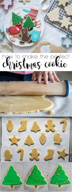 Everything you need to know - from dough to decorating - to make the perfect Christmas Cookies this holiday season!