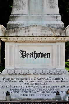 Guten tag, Beethoven - Vienna, Austria