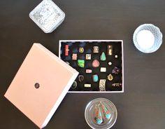 Organizador de anillos en caja - Departamento de Ideas