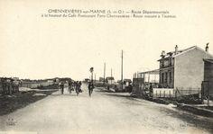 CPA Chenneviéres-sur-Marne (Dep.94) Route Départementale (44895) | eBay