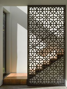 ideas metal screen design interiors for 2019 Screen Design, Wall Design, House Design, Design Design, Facade Design, Door Design, Wooden Screen, Metal Screen, Floor Screen