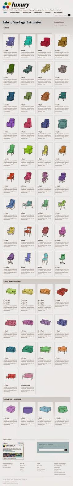 diseÑo-mobiliario y textiles: guÍas de tapicerÍa- yardas de telas ... - Saber Comprar Mobiliario