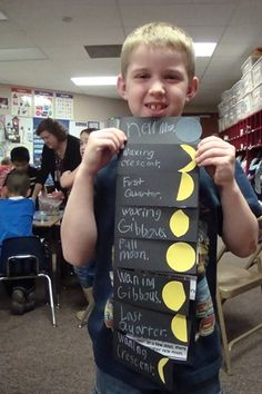 So great for moon phases! I'm totally doing this! It's nice and simple for my kids, and it gets to the point!