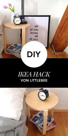 IKEA HACK: So wird dein IKEA Tisch zu einem stylischen Nachtisch!