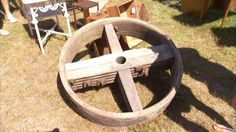 How to Turn a Wheel Into a Coffee Table | Watch the video - Yahoo Good Morning America