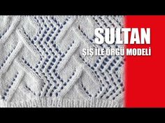 Yılan Güle Dolandı Modeli Anlatımı - YouTube Lace Knitting, Knitting Stitches, Knit Crochet, Crochet Hats, Knitting Designs, Knitting Patterns, Hat Patterns, Popular Ads, Knit Art