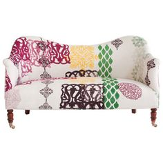Dromedary Love Seat...A wonderful spot to read a book and dream in our bedroom. #DreamRobshaw
