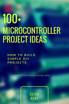 Best Microcontroller based mini projects ideas have been listed in this post especially for 2nd year and 3rd year engineering students.
