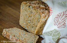 Celozrnný chléb se semínky a mrkví - Spicy Crumbs Spicy, Bread, Food, Brot, Essen, Baking, Meals, Breads, Buns