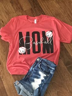 Baseball Mom T-Shirt can find Baseball mom and more on our website.Baseball Mom T-Shirt Sports Mom Shirts, Football Mom Shirts, Cheer Mom Shirts, Baseball Mom Shirts Ideas, Soccer Mom Shirt, Baseball Quotes, Team Shirts, Baseball Shirt Designs, Volleyball Mom Shirts