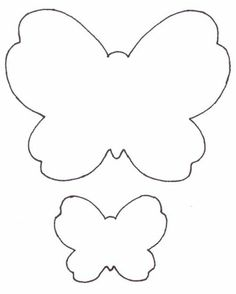 Butterfly wings pattern. Use the printable outline for