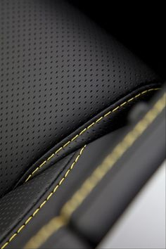 Luxury car interior inspired leather seats and stitching Custom Car Interior, Car Interior Design, Automotive Design, Design Cars, Car Interior Upholstery, Automotive Upholstery, Aircraft Interiors, Car Interiors, New Luxury Cars
