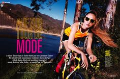 visual optimism; fashion editorials, shows, campaigns & more!: auf zur tour de mode: alma durand by steve hiett for glamour germany may 2013...