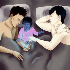 From becomingfoxes ... alexander 'alec' lightwood, the mortal instruments, little one, blueberry, max lightwood - bane, magnus bane