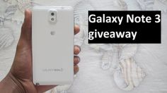 samsunggalaxytalk.com is hosting a Samsung Galaxy Note 3 Giveaway, So hurry up and join it.