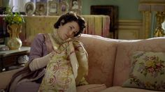 GIFS   DOWNTON ABBEY | season 1 (x)  and now for the hard-hitting questions: has Cora finally finished her needlework? because I'm pretty sure she didn't do one stitch all season.  Judging by the CS trailer, we're going to be seeing a lot of needlework.